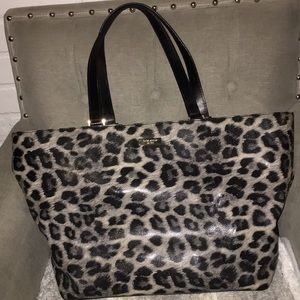 Kate Spade Animal print tote/satchel